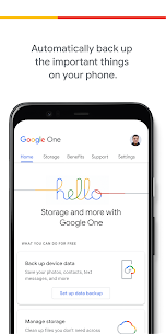 Google One MOD APK V1.73.324410959 – (Unlimited Money) 1