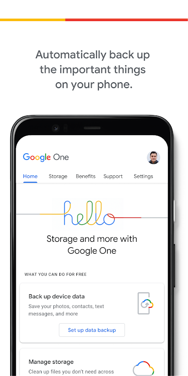 Google One poster 0