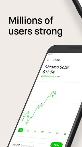 Robinhood - Investment & Trading, Commission-free  screenshots 1