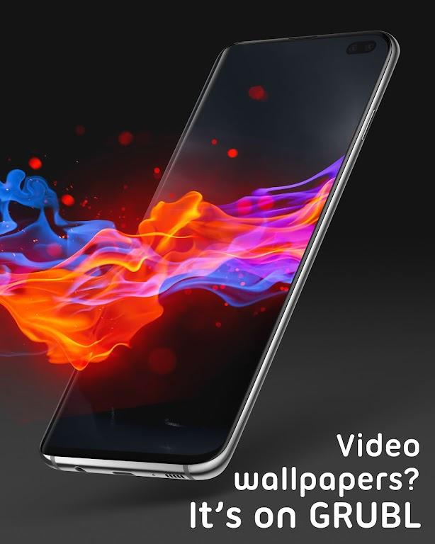 Live Wallpapers 4Κ/HD & Ringtones GRUBL™  poster 3
