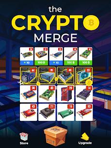 The Crypto Merge Mod Apk- bitcoin mining simulator (Unlimited Money) 6