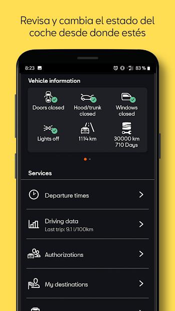 Captura 3 de SEAT CONNECT App para android