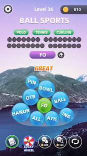 Word Village - Word Bubble Crush & Puzzle Game