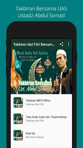 Takbiran Idul Fitri 2021 - Ustadz Abdul Somad  screenshots 1