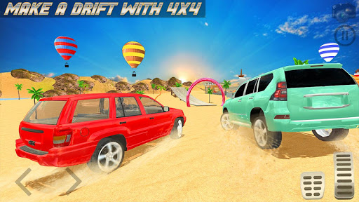 Cars Drifting Adventure: Prado Car Stunt Games 1.14 screenshots 10