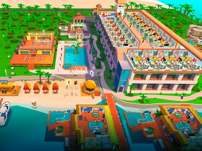 Hotel Empire Tycoon - Idle Spiel Manager Simulator Screenshot