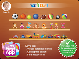Sort It Out 1 - for age 3+