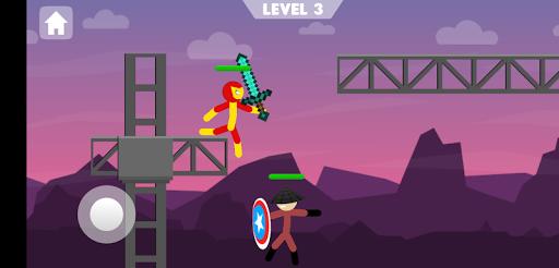 Stickman Supreme: Duelist 2 Fight Warriors 3.0.0 screenshots 1