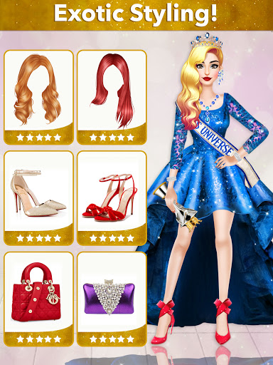 Fashion Girls Makeover Stylist - Dress up Games 0.7 screenshots 23