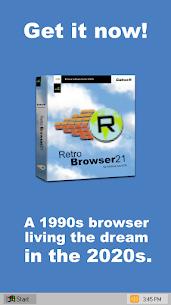 Retro Browser: '90s nostalgic web browser 5