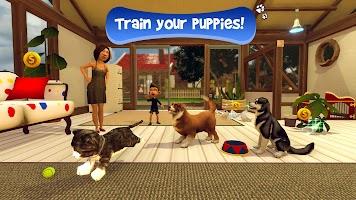 Virtual Puppy Simulator - Pet Dog Family Adventure