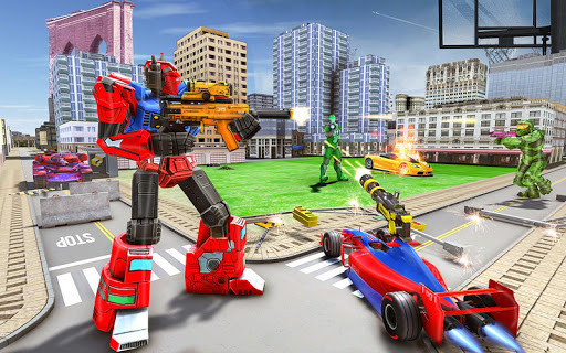 Tank Robot Car Game 2020 u2013 Robot Dinosaur Games 3d screenshots 5