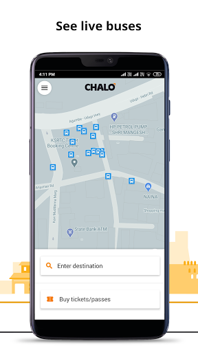 Chalo - Live Bus Tracking App 7.2.2 Screenshots 1