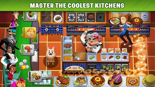 Cooking Dash MOD APK (Unlimited Gold) 5
