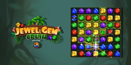 Jewel & Gem Crush - Match Master  screenshots 14