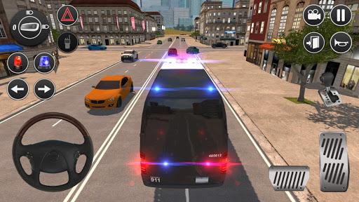 American Police Van Driving: Offline Games No Wifi 1.1 screenshots 1
