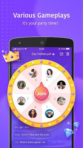 Hello Yo - Group Chat Rooms  Screenshots 8