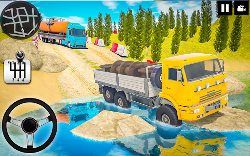 Log Transporter Truck Driving : Truck Games 2021 screenshots 3