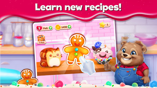 Sweet Escapes: Design a Bakery with Puzzle Games  screenshots 5