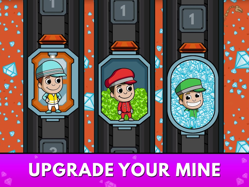 Idle Miner Tycoon: Gold & Cash Game MOD poster 16