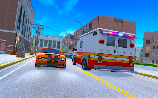 Light Speed Hero Rescue Mission: City Ambulance 1.0.4 screenshots 7