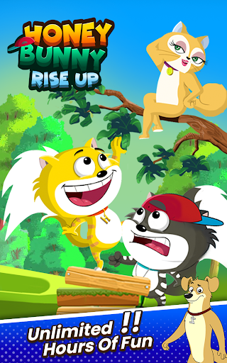 Honey Bunny Ka Jholmaal Games : Rise Up Jump & Run 1.0.3 screenshots 4