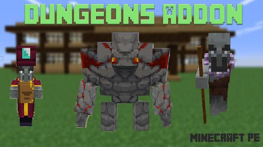 Dungeons Addon MCPE 1.1