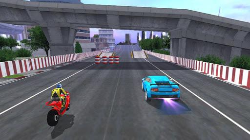 Car vs Bike Racing screenshots 3