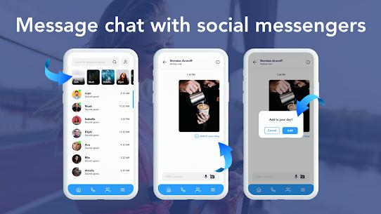 Social Messenger: Free Mobile Calling, Live Chats 1