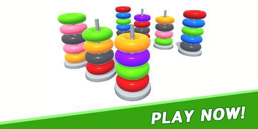 Color Sort Puzzle: Color Hoop Stack Puzzle 1.0.11 screenshots 24