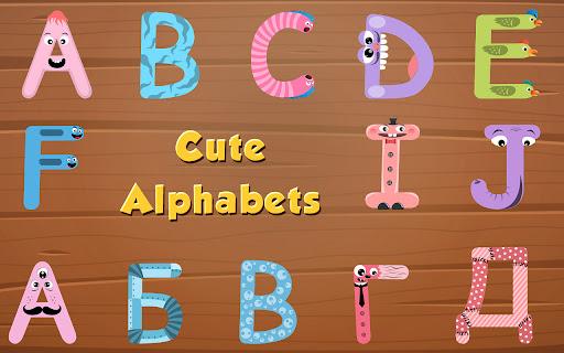 Alphabet game for kids - learn alphabets 4.1.0 screenshots 13
