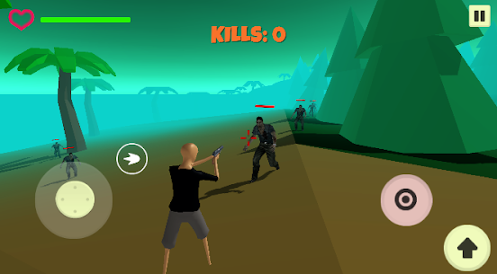 Zombies: Survival Island 3D Online Hack Android & iOS 1