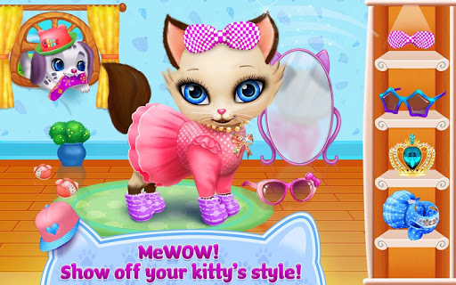 Kitty Love - My Fluffy Pet android2mod screenshots 13