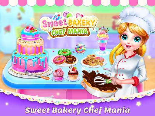 Sweet Bakery Chef Mania: Baking Games For Girls 2.8 Screenshots 13