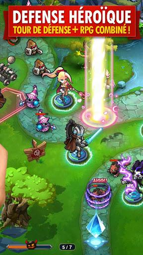 Télécharger Magic Rush: Heroes APK MOD (Astuce) screenshots 2