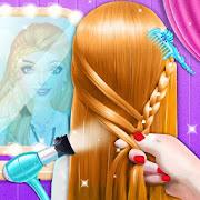Fashion Braided Hair Salon Stylist - Girls Games