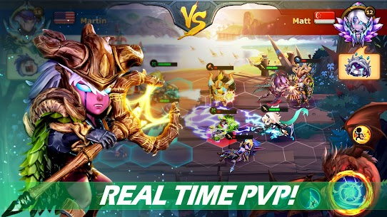 Runelords Arena: Tactical Hero Combat IDLE RPG Apk Mod + OBB/Data for Android. 3