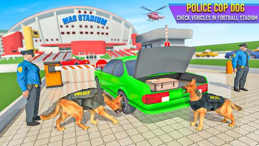 Police Dog Football Stadium Crime Chase Game  screenshots 1