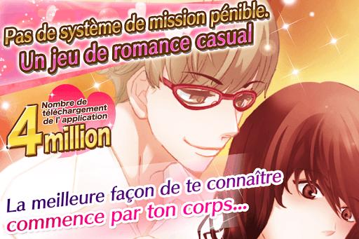 Télécharger Caresses dangereuses: jeux d'amour Otome games  APK MOD (Astuce) screenshots 1