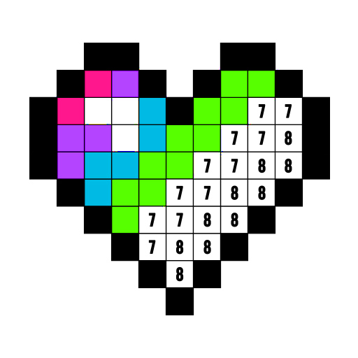 Color by Number: Free Coloring Games - Drawing Art