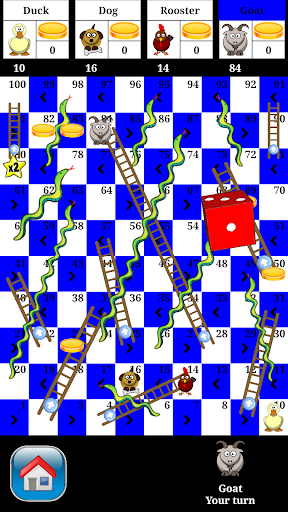 Snakes and Ladders - 2 to 4 player board game  Screenshots 1