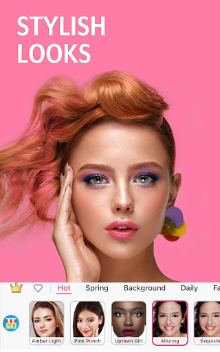 YouCam Makeup - Selfie Editor & Magic Makeover Cam apktreat screenshots 2