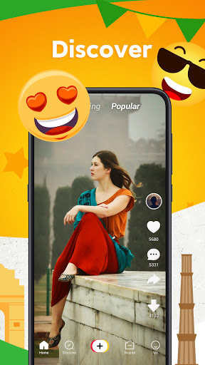 Zili - Short Video App for India | Funny android2mod screenshots 8