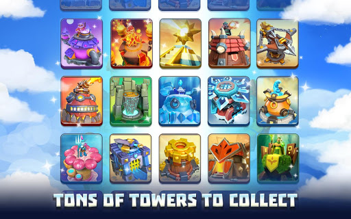 Wild Sky TD: Tower Defense Legends in Sky Kingdom  screenshots 4
