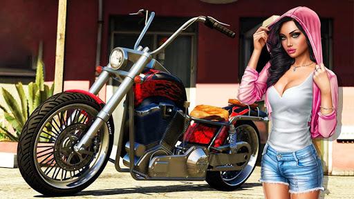Highway Death Moto- New Bike Attack Race Game 3D  screenshots 2