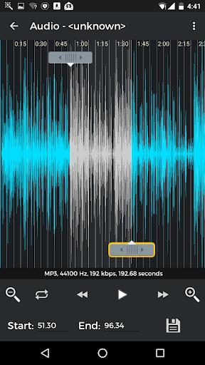 MP3 Cutter & Ringtone Maker android2mod screenshots 3