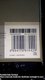 Wireless bluetooth barode scanner & Data collector
