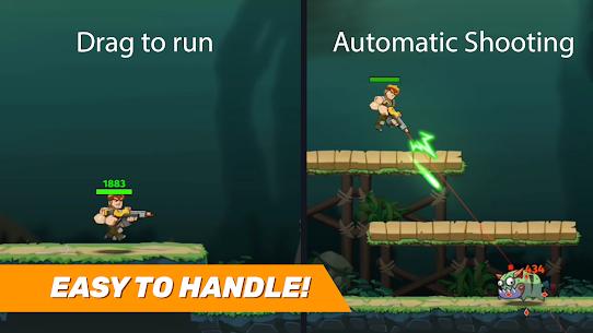 Auto Hero: Auto-fire platformer MOD (Unlimited Money) 1
