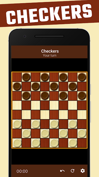 Damas - free checkers