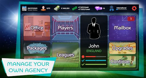 Mobile Football Agent - Soccer Player Manager 2021 1.0.7 screenshots 2